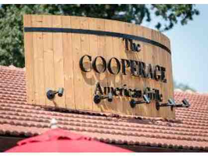 Gift Certificate for the Cooperage in Lafayette, Calif.