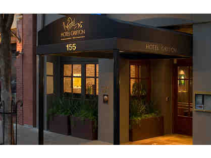 Hotel Griffon - Award Winning SF Botique Hotel - One Night Stay for two