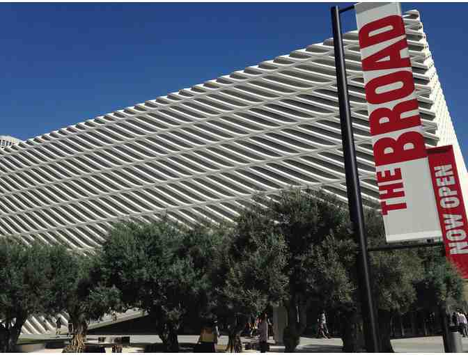 Four VIP Passes to The Broad