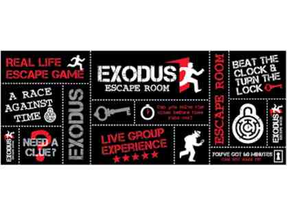 Gift Certificate to the Exodus Escape Room!