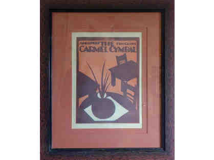 23. The Carmel Cymbal Apr 27, 1927 Framed