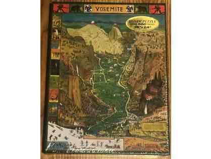 5 - Original Jo Mora Yosemite Map Puzzle
