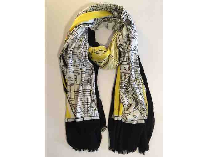 Kate Spade Map of New York Scarf