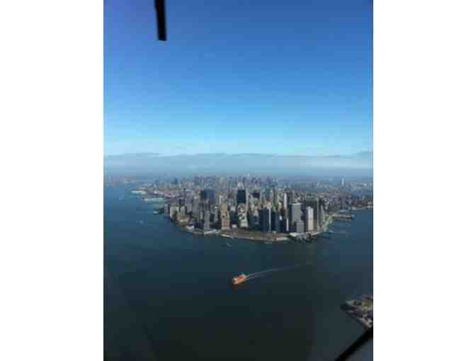 AN AERIAL TOUR OF NYC