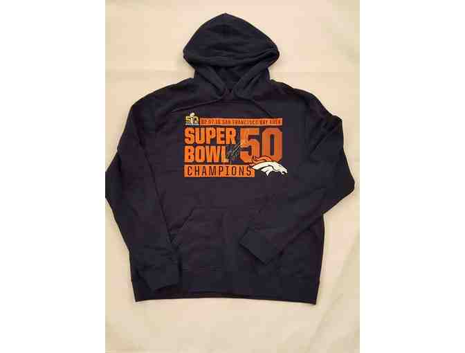 Denver Broncos Hoodie autographed by Jordan Norwood