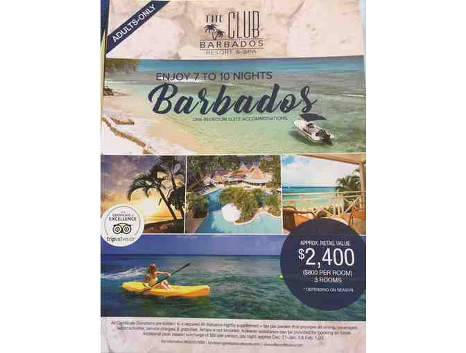 7-10 Nights at the Club Barbados Resort & Spa (Adults Only)