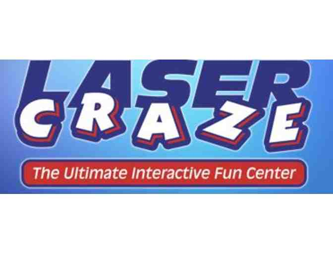 Laser Craze - One session of laser tag or the adrenaline zone for up to 5 people - Photo 1