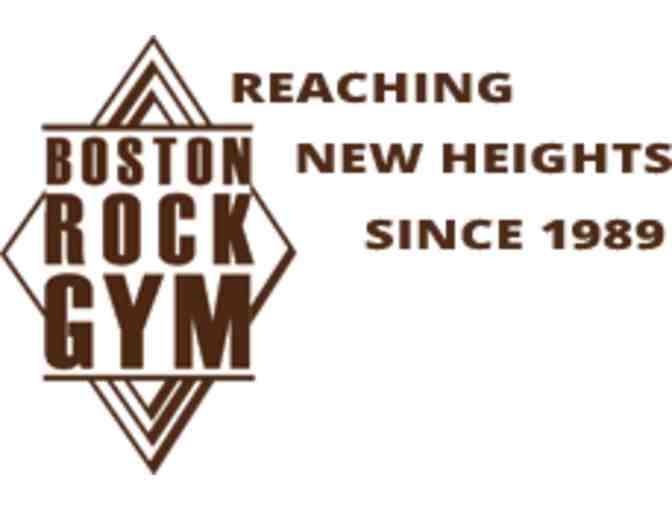 Boston Rock Gym - Gift card good for 5 Kid's Climbs - Photo 1