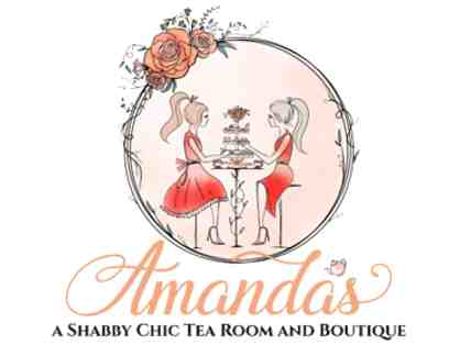 A Princess Tea Party with PVS Teacher, Ms. Lusty, at Shabby Chic Tea Room and Boutique