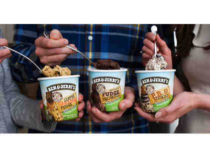 Ben and Jerry's Family Four Pack