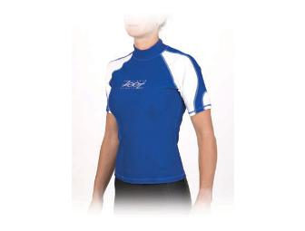 ZOOT Sports 2005 Rash Guard  - color Pacific /White