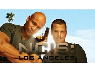 NCIS: LOS ANGELES Set Visit, Lunch with Barrett Foa, and a Cast Signed Script
