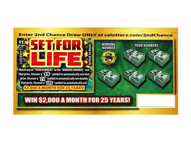 50 California Lottery Scratcher Tickets!