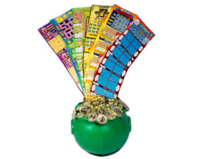 Lucky Lottery Ticket Basket