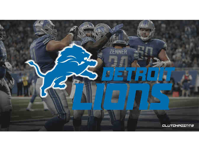 September 29! Detroit Lions vs. Kansas City Chiefs with SIDELINE PASSES! - Photo 1