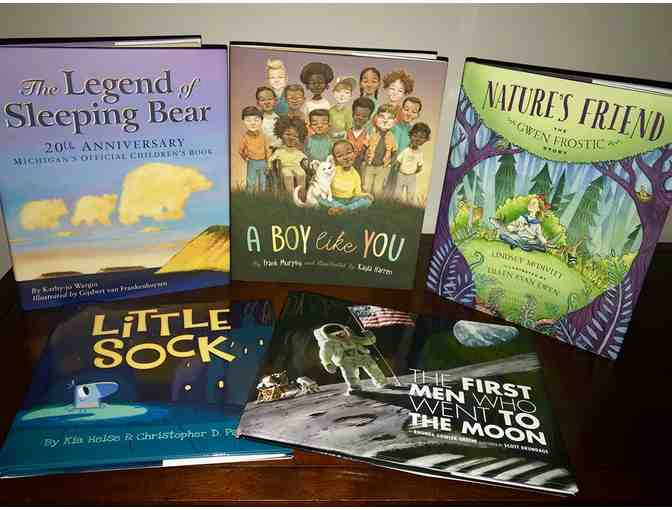 Young Minds Basket - Sleeping Bear Books & Wild Swan Certificate