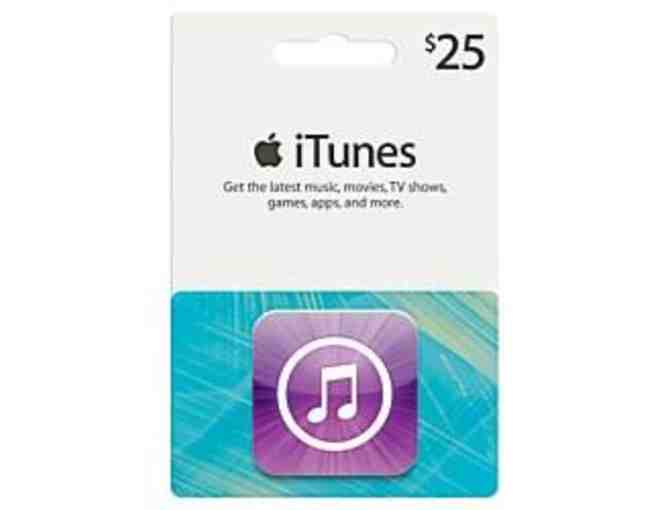 A $25 AppStore iTunes Gift card and Bongiovi Acoustics Labs DPS VIP v2 License
