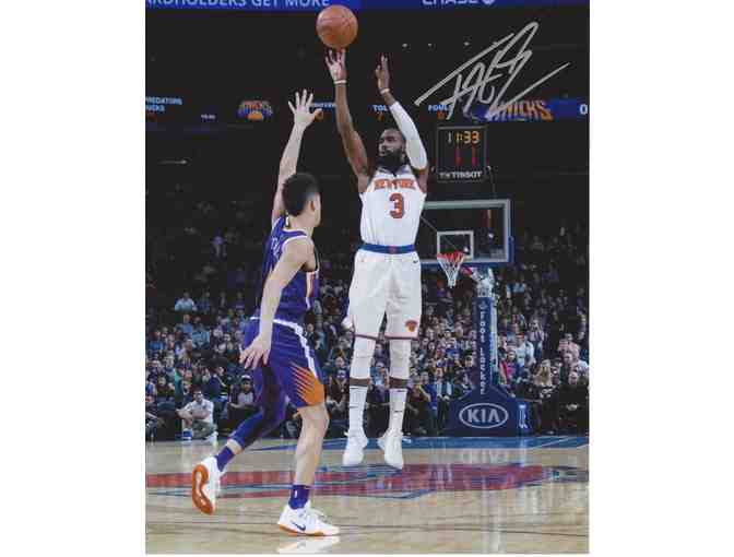 Autographed Tim Hardaway Jr. Photo - New York Knicks
