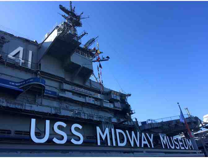 Family Four Pack of Tickets to The USS Midway Museum - San Diego, CA