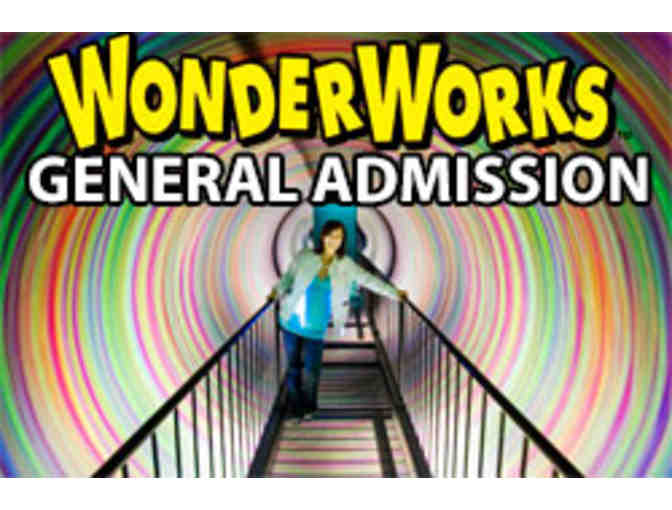 2 General Admissions Passes to WonderWorks - Orlando, FL
