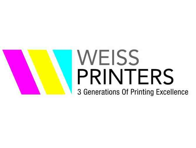 $100 Gift Certificate to Weiss Printing - West Orange, NJ