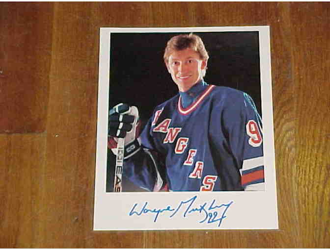Wayne Gretzky New York Rangers Autographed Photo