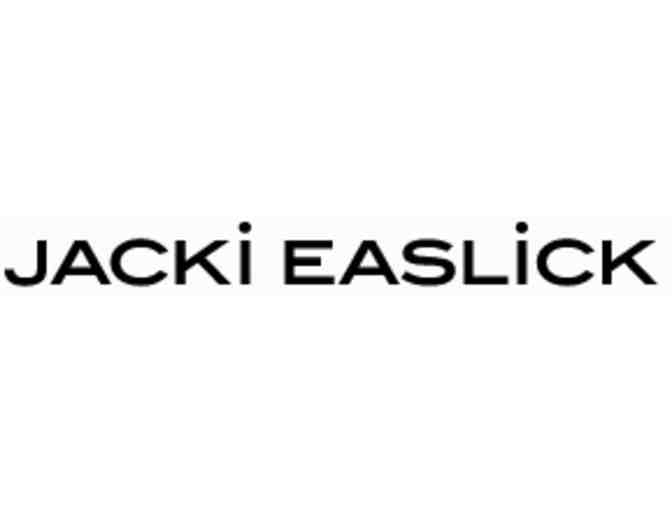 $100 Gift Certificate toward any Jacki Easlick handbag. ($100 value)