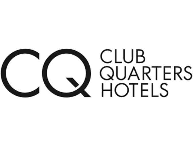 One-Night Weekend Stay at the Club Quarters Hotel Of Your Choice!