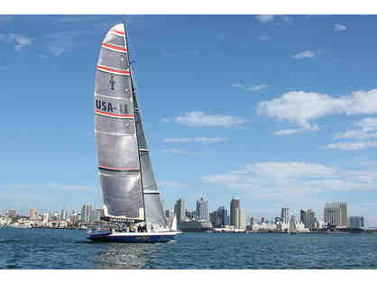 America's Cup Yacht Sailing for 2