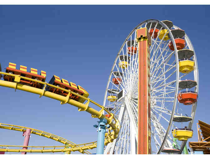 Pacific Park/Santa Monica Pier - Certificate for 4 Unlimited Ride Wristbands