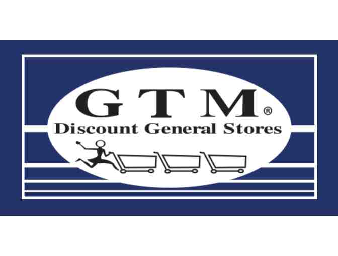 GTM Discount General Stores - $25 Gift Card