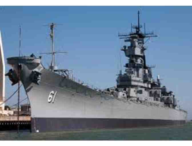 Battleship IOWA Museum - 4 General Admission Tickets