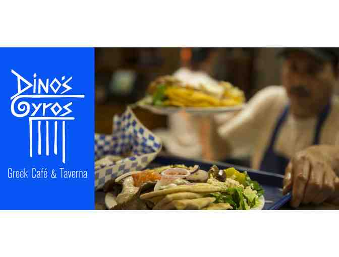 Dino's Gyros Greek Cafe & Taverna - 4 $10 Gift Cards