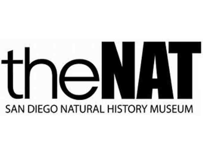 San Diego Natural History Museum - 4 General Admission Passes