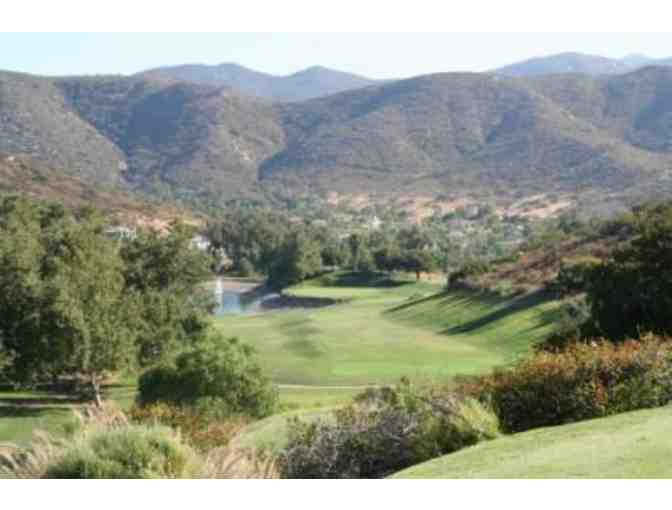 Steele Canyon Golf Club - Certificate for a Foursome