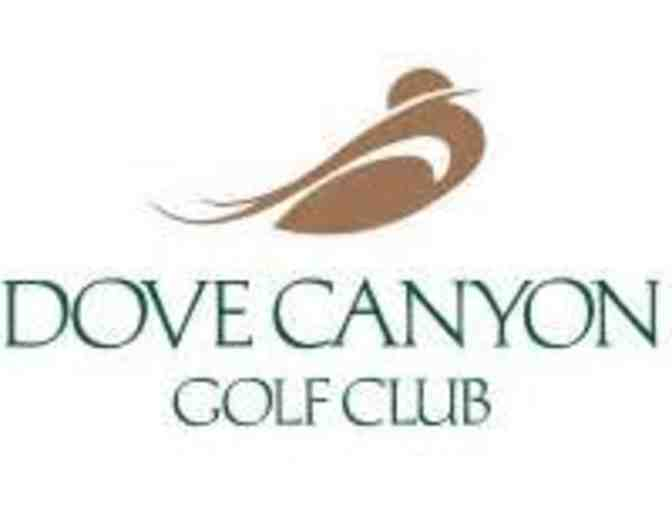 Dove Canyon Golf Club (Orange County) - Certificate for a Foursome