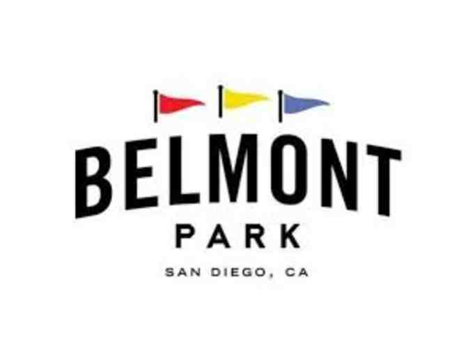 Belmont Park - 4 Single Ride or Attraction Passes