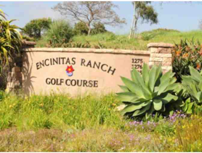 Encinitas Ranch Golf Course - 4 Certificates for a Round of Golf (Including Cart)