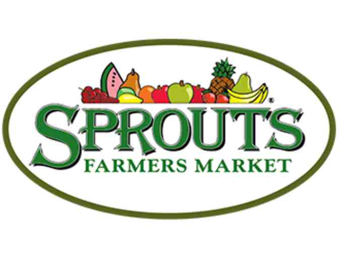 Sprouts Farmers Market - $25 Gift Card