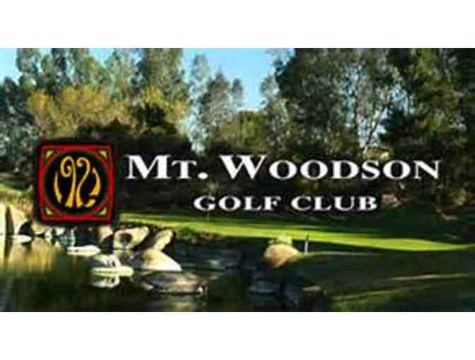 Mt. Woodson Golf Club - Certificate for a Foursome