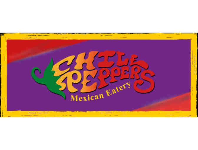 Chili Peppers Mexican Eatery - $25 Gift Card
