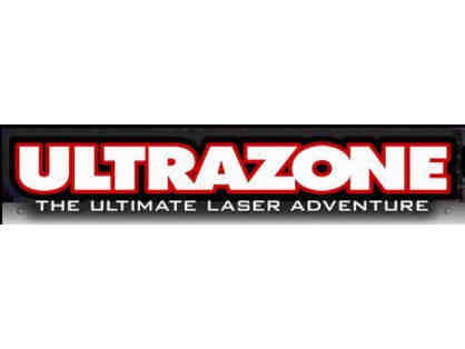 UltraZone Laser Tag - Gift Certificate for 6 Free Games