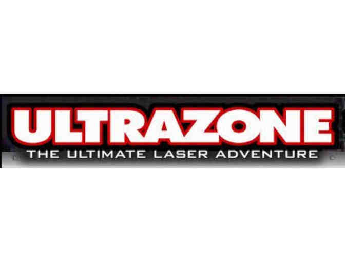 UltraZone Laser Tag - Gift Certificate for 6 Free Games - Photo 1