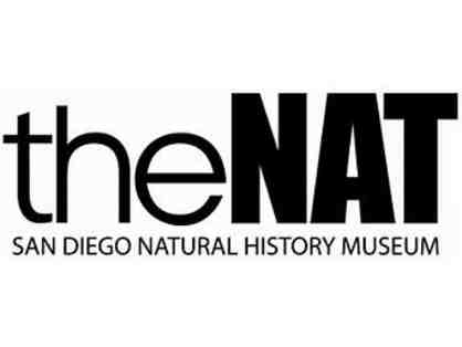 The Nat (San Diego Natural History Museum) - 4 General Admission Passes