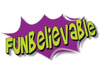FUNbelievable (Lakeside) - Two Open Play Admissions (each for 1 child)