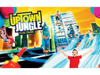 Uptown Jungle Fun Park - 2 90-Minutes Free Guest Passes