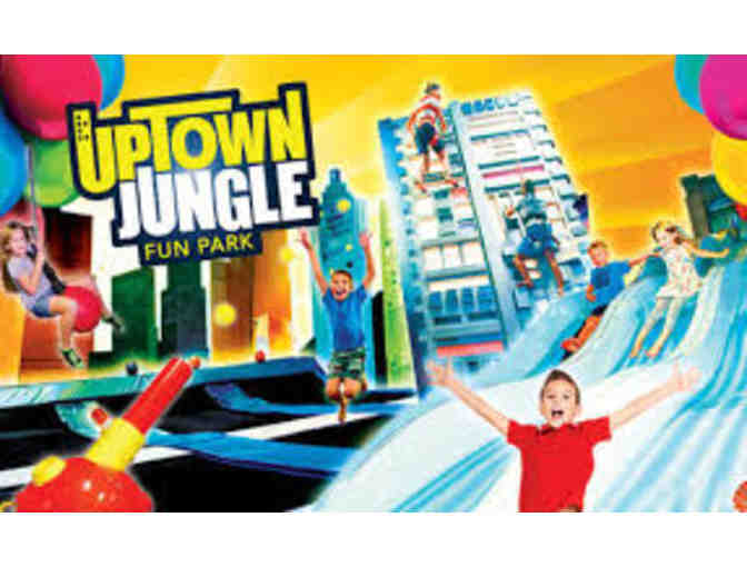 Uptown Jungle Fun Park - 2 90-Minutes Free Guest Passes - Photo 1