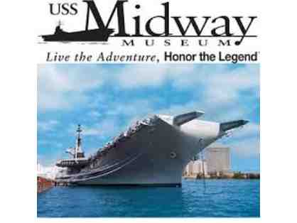 USS Midway Museum - Family Pack of 4 Guest Passes