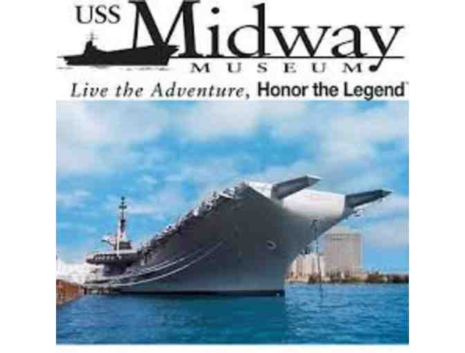 USS Midway Museum - Family Pack of 4 Guest Passes - Photo 1