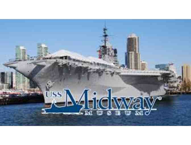 USS Midway Museum - Family Pack of 4 Guest Passes - Photo 3